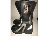 Used Boys Size 31 ( 12.5 Uk) Motorbike Boots From Kidzone By Lewis
