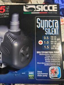 Sicce Syncra 1.0 Aquarium fish tank Pump