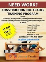 Need Work? Free Training Opportunity