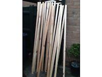 Joblot timber all planed 2 x 1