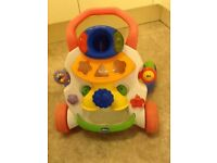 Chicco baby walker (shape sorter)