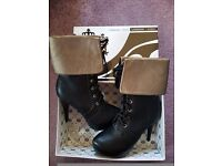 Brand New High heel boots size 6