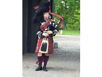 Professional Bagpiper for Hire