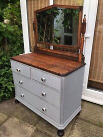 Chest of Drawers - Mirror