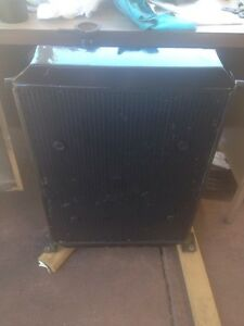 Hotrod rat rod street rod radiator with chrome thermo fan Armadale Armadale Area Preview