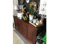 Solid wood sideboard,cupboard