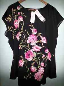 Millers Floral Tunic Top Size 20 Brand new with tags Kelso Townsville Surrounds Preview
