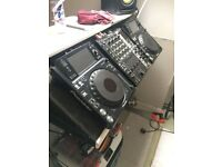 Pioneer xdj1000's with 750 djm mixer Great condition