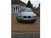 BMW 520i, AUTO, GREY,FSH, CREAM LEATHER, XENON