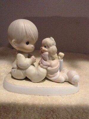 "Precious Moments - ""The Greatest Gift Is A Friend"" - #109231 - No Box - EUC"