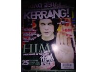 15 x Assorted Rock-Metal magazines