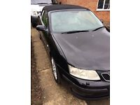 saab93 aero convertible full leather nice throughout very reliable long mot
