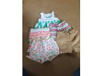 Baby girl summer bundle 9-12 months