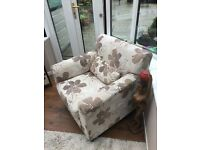 chair ex con ,,, plus 2 seater settee