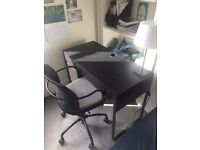 IKEA Desk and Chair - Stylish and Good Condition, price drop