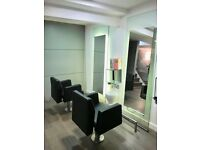 Hair Salon Chairs and Mirrors for sale