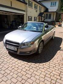 Sold!!! Audi a4 Convertible, 2.5 TDI, SAT NAV, ALL ELECTRIC.