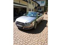 Sold!!! Audi a4 Convertible, 2.5 TDI, SAT NAV, ALL ELECTRIC.