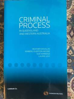 Law Textbook - Criminal Process in Qld and Western Australia