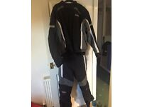 Spada motorcycle trousers and jacket