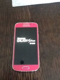 samsung s4 pink unlocked open o2 02 ee t mobile virgin tesco 3 vodafone any giff gaff