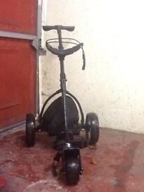 Motocaddy golf trolley, push along type. Nice condition only £30 collection only.