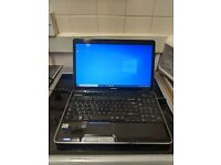 Toshiba equium windows 10 pro with office package wifi hdmi webcam etc fast easy cheap laptop