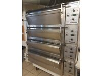 Tom Chandley 5 Deck Compact Electric Bakery Oven, fully serviced, perfect condition, very little use