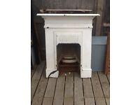 Edwardian cast iron fireplace. Pick up Chiswick W4.