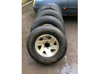 l200 alloys and tyres
