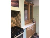 kitchen cupboards and draws for house letting....