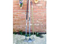 SELECTION OF STAINLESS STEEL GARDEN HOES £5 EACH