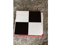 Stick down floor tiles