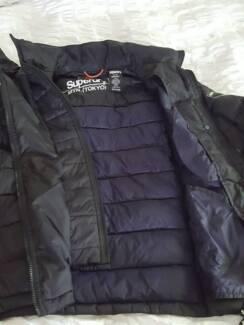 SuperDry men's black jacket - Size M