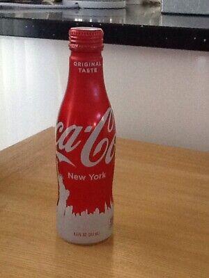 Coca Cola Bottle New York Statue Of Liberty Sealed Aluminium Bottle
