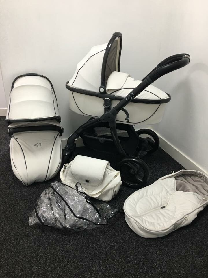 Babystyle Egg Stroller Artic White In Gomersal West