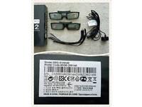 Samsung 3d TV glasses x2