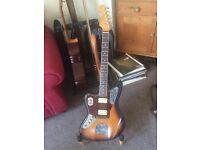 Left Handed Fender Kurt Cobain Road Worn Jaguar w/Hard Case