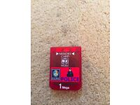 PS2 Memory Card - Red