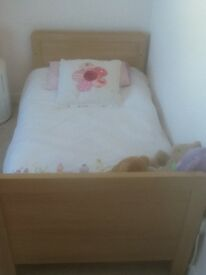 Toddler's bed for sale excluding mattress