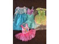 Girls 5-6 years Disney Princess Dress up - Frozen Little Mermaid Tinkerbell Disney Store