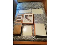 VARIOUS SIZES OF IKEA PHOTO PICTURE FRAMES