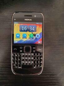 Nokia E6 8GB 8MP symbian keyboard phone