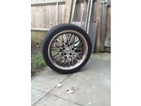 Alloy wheels Bmw 18 inch with tyres