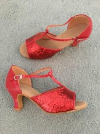 Red Dance or Character Shoes