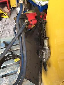 Treuil avec chaine a maille  hydrolique 1 tonne 10 pieds chaines