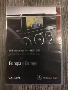 Just arrived v6 2016 2017 map pilot mercedes garmin sd for Mercedes benz garmin sd card