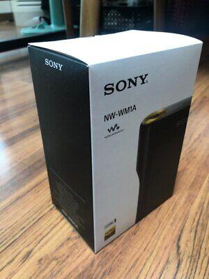 Sony Walkman NW - WM1A Black (128 GB) Hi-Res Digital Media Player EMS Shipping