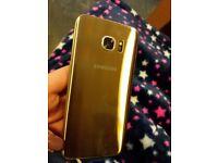 Samsung S5 Edge Gold (tescos network)