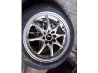 """4x100 4x108 multi stud 15"""" alloy wheels"""